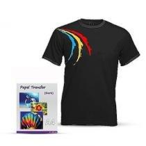 Papel Fotográfico Transfer A4 para Camisetas Escuras 300g - 5 Folhas - Joyce