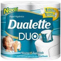 Papel higiênico duallete duo 30m c/ 4 rolos -