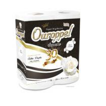 Papel higienico folha dupla c/64 rolos - ouroppel - Ouropel