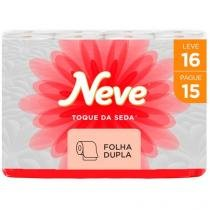 Papel Higiênico Folha Dupla Neve 30211716 - 16 Rolos 30m