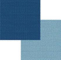 Papel Scrap Basico Azul Marinho Poa KFSB44 - Toke e Crie by Ivana Madi - Toke e Crie
