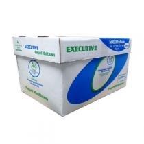 Papel Sulfite A4 Branco 75gr 210x297mm cx 5000 Folhas 10 Pct Executive -