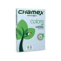 Papel Sulfite Colors A4 210MMX297MM AZUL 75G Pacote com 500FLS - CHAMEX -