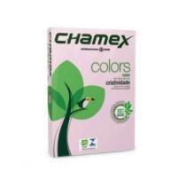 Papel Sulfite Colors A4 210MMX297MM ROSA 75G Pacote com 500FLS - CHAMEX -