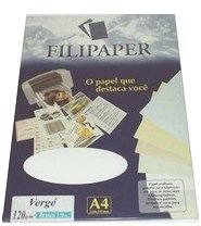 Papel Verge A4 50f 180g Br 0977 Filiperson - 952727
