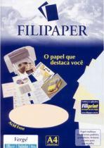 Papel Verge A4 50f 180g Salmao 0985 Filiperson - 1
