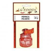 Páprica Picante 20g - LG Foods -