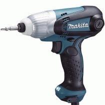 """Parafusedeira de impacto elétrica 1/4"""" 230 watts rotações de 0 a 3.600 rpm - TD0101 (220V) - Makita"""