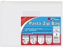 Pasta Chies Zip Bag Ofício / Malote Pacote com 5 Unid 2783-7 -