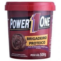 Pasta de Amendoim Brigadeiro Proteico - 500g - Power 1 One -