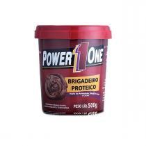 Pasta de Amendoim Brigadeiro Proteico 500g - Power One -