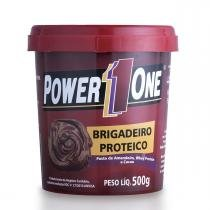 Pasta de Amendoim BRIGADEIRO PROTEICO - Power One - 500g -
