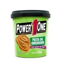 Pasta de Amendoim com açúcar de coco - 500g - Power One -
