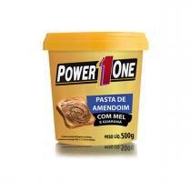 Pasta de Amendoim Gourmet Mel E Guarana 500g Power One -