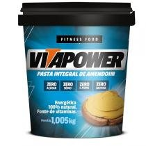 Pasta de Amendoim Integral (1,005g) - Vitapower -