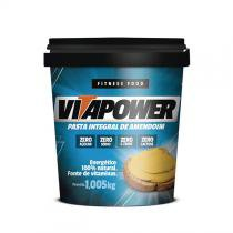Pasta de amendoim integral 1,005kg - Vitapower