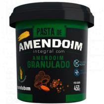 Pasta de Amendoim Integral Com Amendoim Granulado 450g - Mandubim