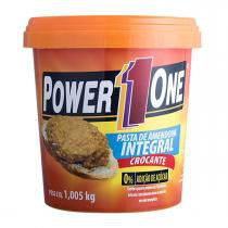 Pasta de Amendoim Integral Crocante - Power One - 1Kg -