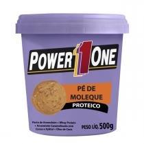 Pasta de Amendoim PÉ DE MOLEQUE PROTEICO - Power One - 500g -