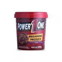 Pasta de amendoim power1one 500g - brigadeiro proteico -