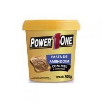 Pasta de amendoim power1one 500g - mel e guaraná - Power1one