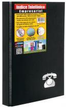 Pasta Índice Telefônico Chies Empresarial Com Ferragem 3 Argolas - Acompanha 50 Refis 1393-9 -