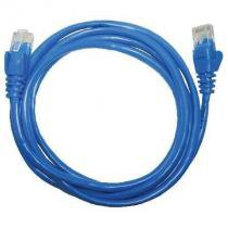 Patch CORD UTP CAT5E 26AWG 1.5M AZUL - Seccon