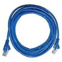 Patch CORD UTP CAT5E 26AWG 3M AZUL - Seccon