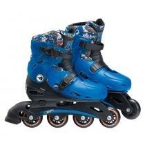 Patins Ajustáveis Hot Wheels M2 33 A 36 Fun 8007-8-FUN - Fun