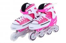 Patins Bel Sports All Style Street Rollers G (37-40) Rosa - 37/40 - BEL SPORTS