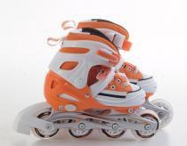 Patins bel sports all style street rollers m (33-36) laranja - 33/36 - Bel sports
