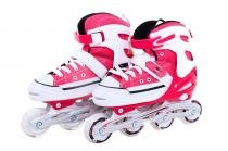 Patins bel sports all style street rollers m(33-36) vermelho - 33/36 - Bel sports