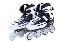 Patins bel sports all style street rollers p (29-32) preto - 29/32 - Bel sports
