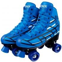 Patins Roller Skate 4 Rodas - Fênix - 34 -