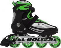 Patins Rollers Bxtreme Inline Bel Sports tam 43 Verde - 43 - BEL SPORTS