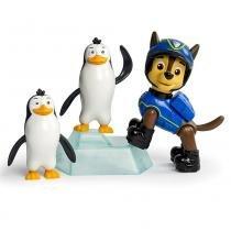 Patrulha Canina Pack de Resgate Amigo Chase e Pinguins Sunny 1341 - Sunny