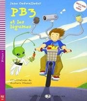 Pb3 Et Les Legumes - Hub Lectures Poussins - Niveau 2 - Livre Avec Cd Audio - Hub editorial