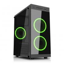 PC G-FIRE AMD A10 9700 3.8GHz 8GB 1 TB Radeon R7 1029 MHz integrada Computador Gamer HTG-188 -