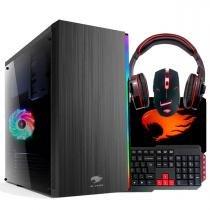 PC G-FIRE AMD A6 7400K 8GB 1TB Radeon R5 2GB Integrada Computador Gamer GKAC HTG-268R -