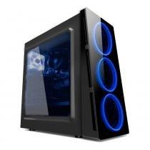 PC G-FIRE AMD A8 9600 3.4 GHz 4 GB 1 TB Radeon R7 900 MHz integrada Computador Gamer HTG-234 -