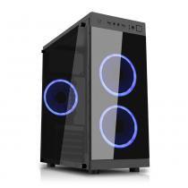 PC G-FIRE AMD A8 9600 3.4 GHz 8 GB 1 TB Radeon R7 900 MHz integrada Computador Gamer HTG-204 -