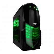 PC G-FIRE AMD Ryzen 5 2400G 3.9GHz 8GB 1TB Radeon RX Vega 11 2GB integrada Computador Gamer HTG-227 -
