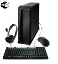 PC G-FIRE Intel I3-7100 4GB 500GB HD630 integrada Wi-Fi MKB computador Desktop HTD-100 -