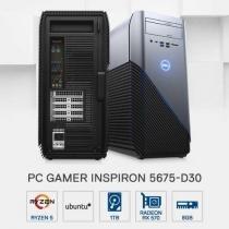 PC Gamer Dell Inspiron INS-5675-D30 AMD R5 8GB 1TB Placa de Vídeo AMD RX 570 4GB Linux -