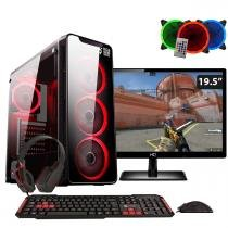 PC GAMER EASYPC COM MONITOR 19 LG 20M37A INTEL I5 8GB HYPERX HD 1TB GTX 1050Ti -