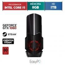 PC Gamer EASYPC Intel i5, 8GB HyperX, HD 1TB, 500W, GTX 1060 6GB -