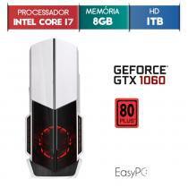 PC Gamer EASYPC Intel i7, 8GB HyperX, HD 1TB, 500W, GTX 1060 6GB -