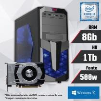 PC Gamer Intel Core i3 7ª Geração 8GB HD 1TB GTX 1050 Windows 10 SL CertoX FORCE 3006 - Certo pc