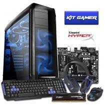 Pc gamer intel i3 7100 8gb hyperx hd 1tb gtx 1050ti 500w 3green titan - Bel micro