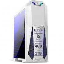 PC Gamer Moba Box Intel Core i5 7400 7ª Geração 4GB DDR4 Geforce GTX 1050 TI HD 1TB 500W EasyPC -